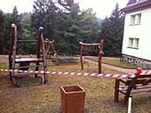 Upravené dětské hřiště