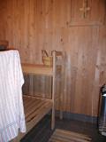Sauna v areálu