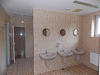 22. objekt D)  sekce sociálního zázemí  umývárna