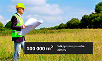 100 000 m2 u hranic pro Va�e podnik�n�